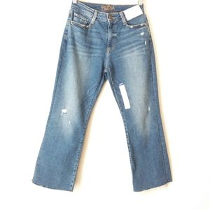 Arizona Jeans Co | Blue Hi-rise Crop Flare Sz 7